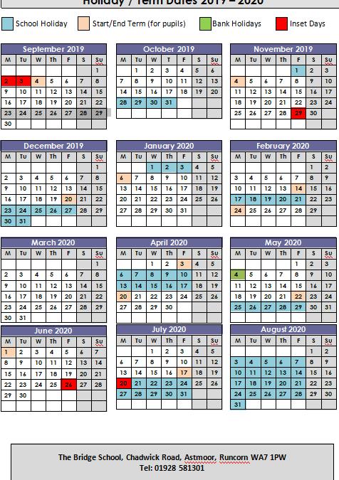 Term Dates 19/20