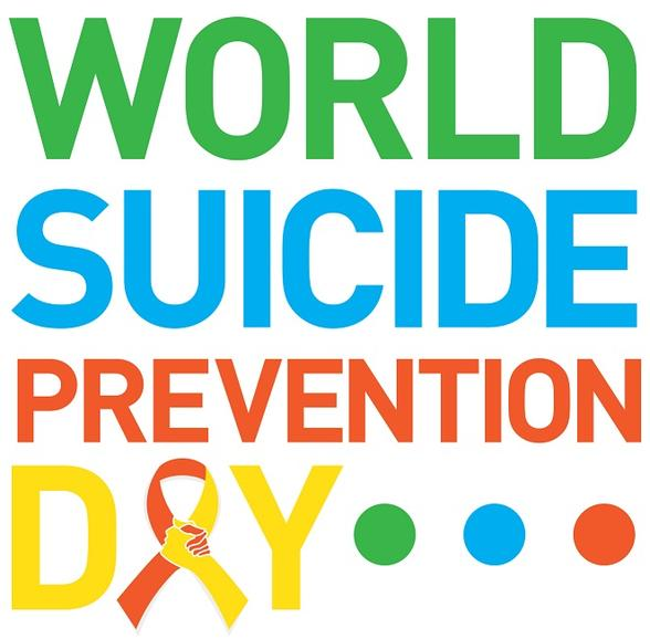 Tuesday 10th September- World Suicide Prevention Day