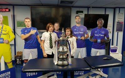 The Bridge School has teamed up with Everton F.C
