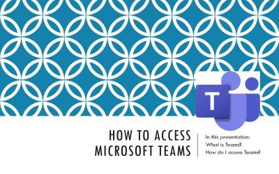 Microsoft Teams Letter